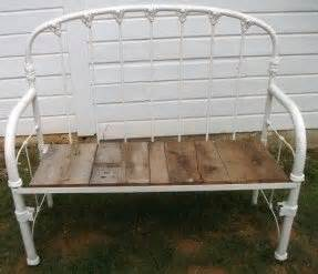 metal bed bench foter