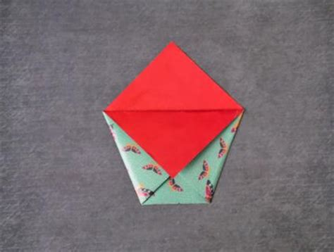 Origami Folder Pocket - how to make a paper pocket