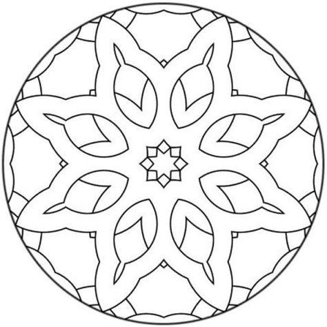 mandala coloring pages for beginners mandalas for beginners mandala 15