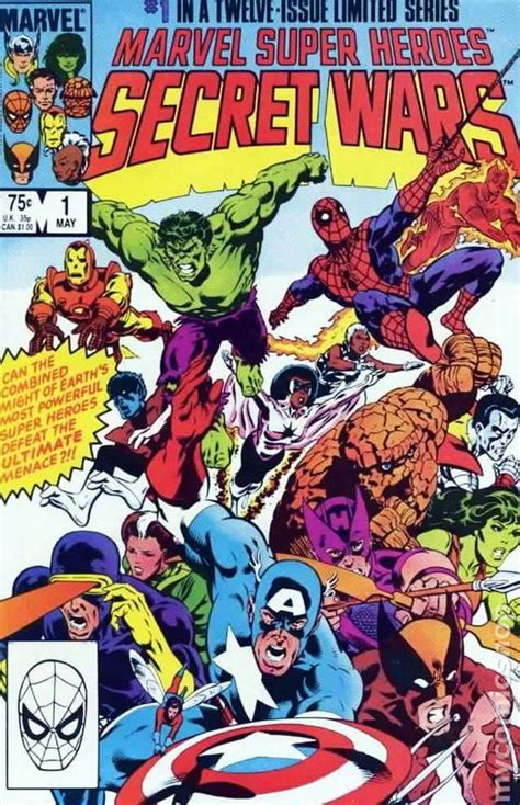 marvel super heroes secret marvel super heroes secret wars 1984 comic books