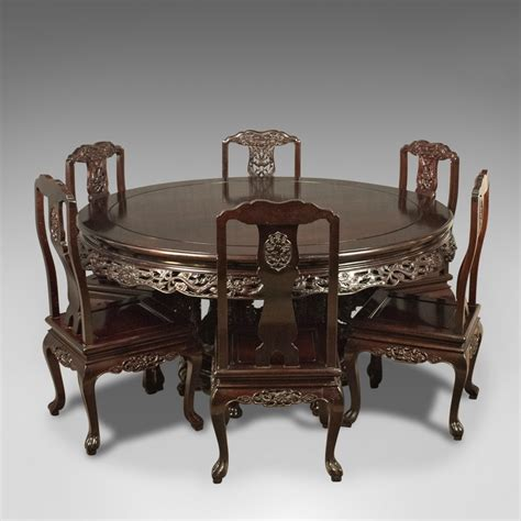 dining table chairs set of 6 antiques atlas rosewood dining table and set of