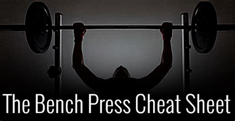 most bench press in the world the bench press cheat sheet jmax fitness