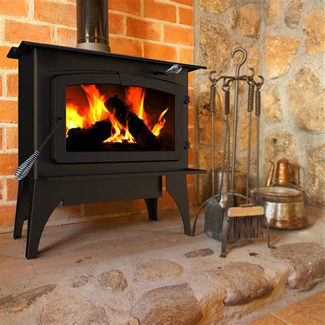 pleasant hearth lws   sq ft large wood