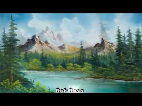 bob ross painting rural america landscape paintings by bob ross landscapes in motion