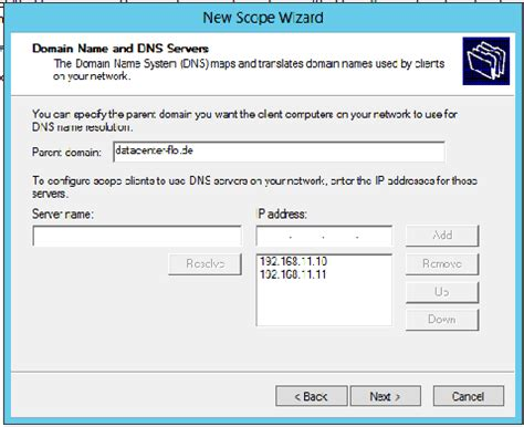configure dhcp  windows server  dell