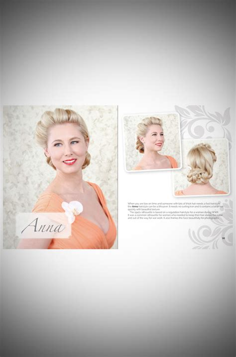 Vintage Hairstyle Books by Hair And Makeup Monday Vintage Inspired Wedding Hair Book