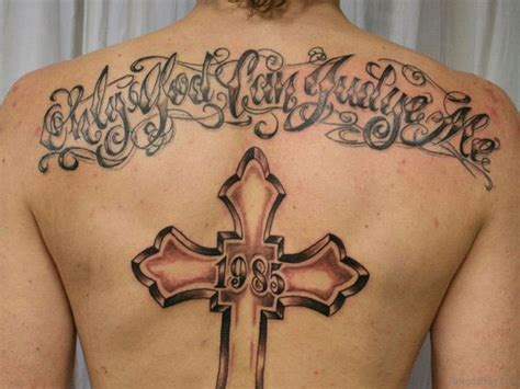 cross back tattoo 97 stunning cross tattoos for back