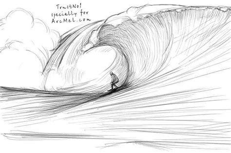 Drawing Waves by How To Draw Waves Step By Step Arcmel