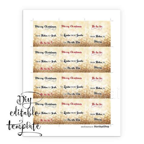 word templates for gift tags printable christmas gift tags template for word fully