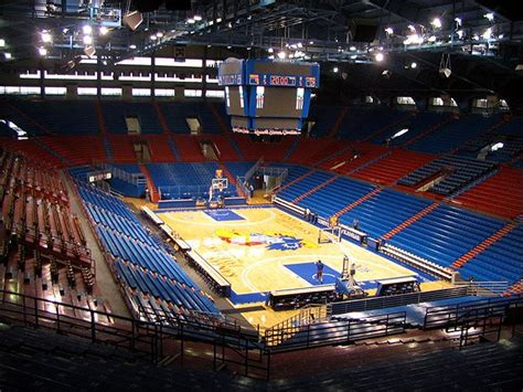 Section 2a by Allen Fieldhouse Kusports
