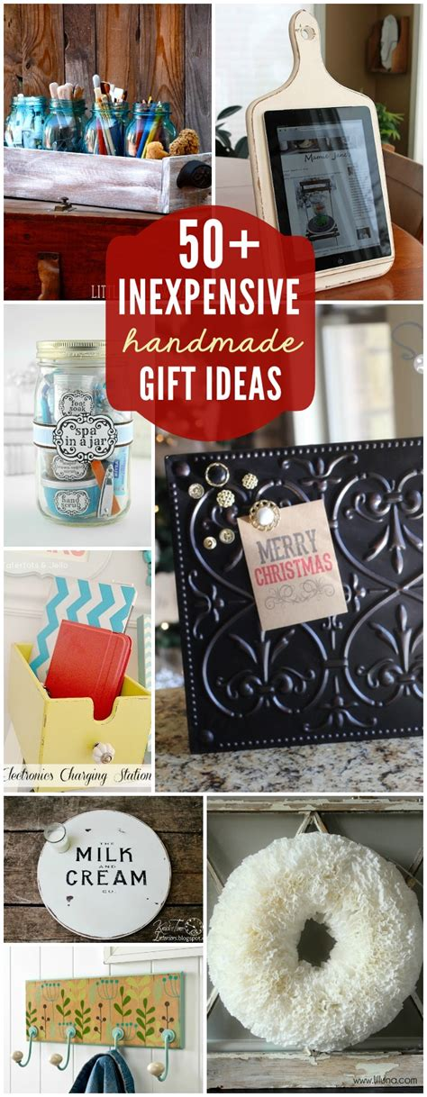 Small Handmade Gift Ideas - inexpensive gift ideas