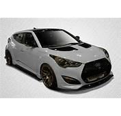 Hyundai Veloster Turbo Carbon Creations 5 Pc Full Body Kit 12 13  GT