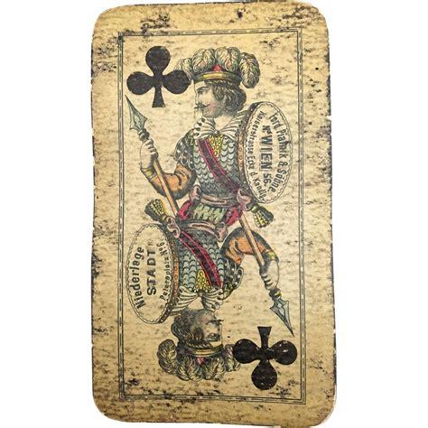 cards antique antique card marked ferd piatnik on of