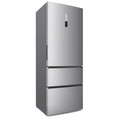 frigorifero cassetti haier a3fe742cmj inox style 307l 129l a total no