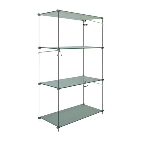 Free Standing Shelf Units by Estuff Glass Wood Shelves Free Standing Shelf Units Metal