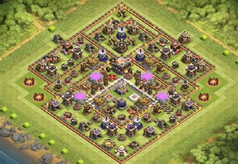 th11 clash of clans best base layouts 17 th7 to th11 farming trophy war base layouts for