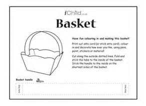 paper easter basket template search results calendar 2015