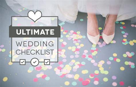 The Ultimate Wedding Checklist A Wedding Planning Guide Wedding Planning Checklist