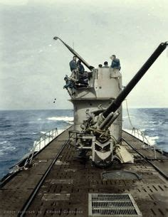 german u boat deck guns wwii and boats on pinterest