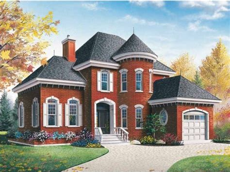 Chateau Home Plans Small Chateau House Plan Ideas