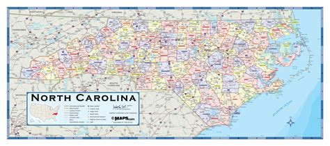 map of counties in nc carolina counties wall map maps