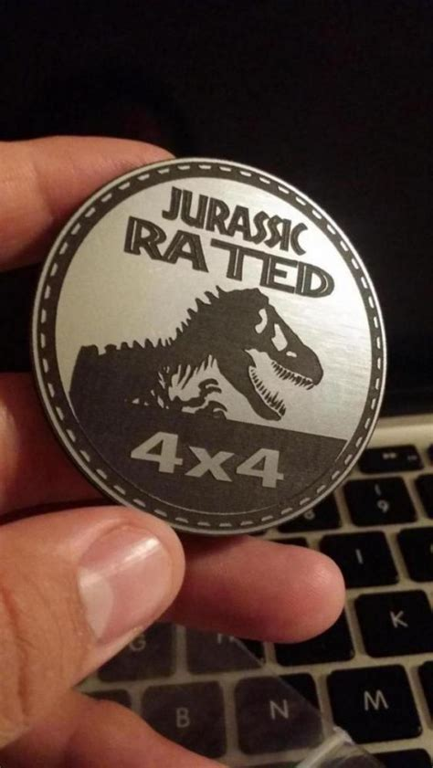 Jurassic Park Chic Audio Unlimited Speakers That Rock jurassic park jeep badge customer badge pics
