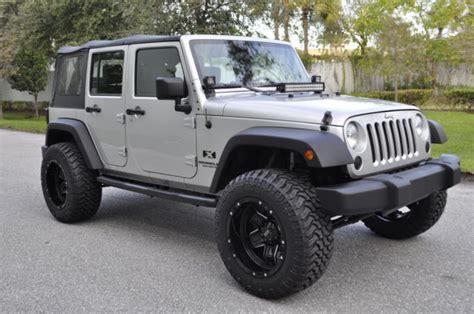 jeep wrangler 4 door silver 2009 2010 2011 2012 2013 jeep wrangler unlimited x jk