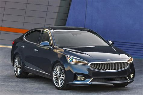 Kia Cars 2017 Kia Cadenza New Car Review Autotrader
