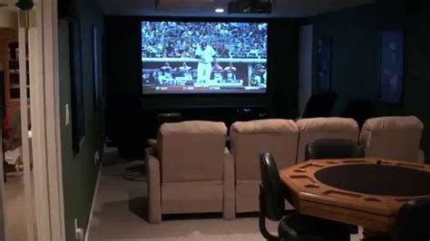 dream home theater pub room game room high def