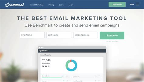bench mark email benchmark email marketing review and marketing packages
