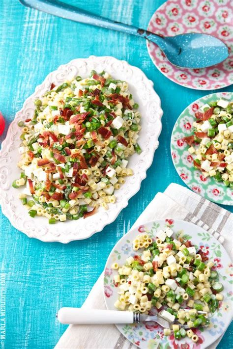 Mummy Winter Detox by Pasta Salad With Asparagus Bacon And Feta Food