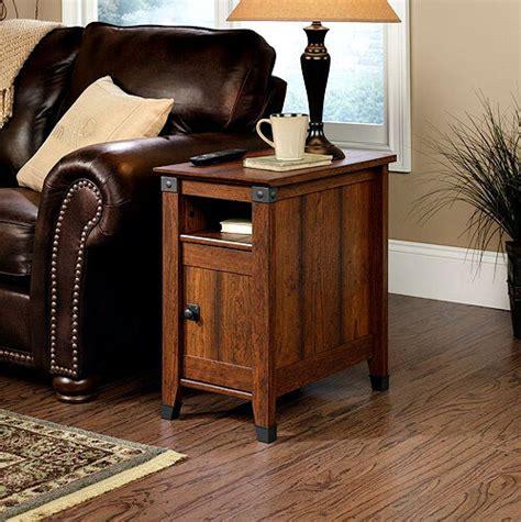 Storage Table For Living Room - side table drawer living room furniture wood shelf storage