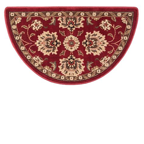 Goods Of The Woods Hearth Rugs by Goods Of The Woods Regal Wine Half Olefin