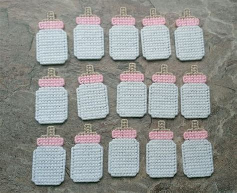 Plastic Baby Bottles For Baby Shower by 15 Plastic Canvas Baby Bottle Baby Shower By