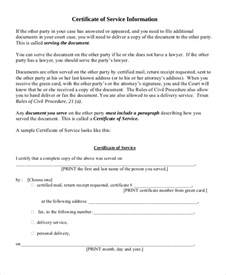 Service Certificate Template For Employees by Certificate Of Service Template 9 Free Word Pdf