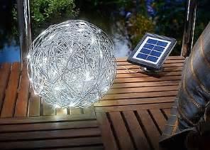 leuchtkugel für garten solar leuchtkugel led solarkugel kugel garten 7 farben