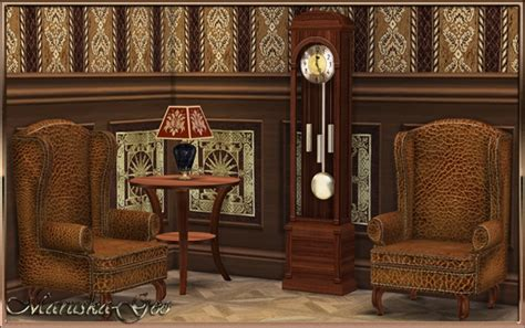 blues set furniture and decor at maruska geo 187 sims 4 updates five o clock set of furniture at maruska geo 187 sims 4 updates