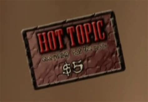 Hot Topic Gift Card - hot topic gift card the metalocalypse wiki fandom powered by wikia