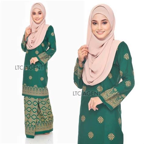 Baju Baby Nexxkids Bunga Hijau baju kurung moden songket bunga tabur all sold out saeeda collections