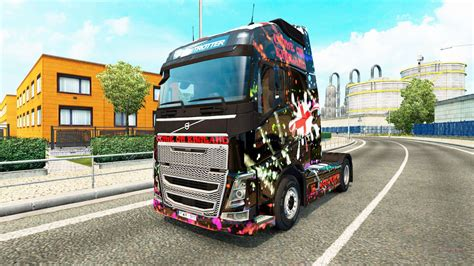 england skin  volvo truck  euro truck simulator