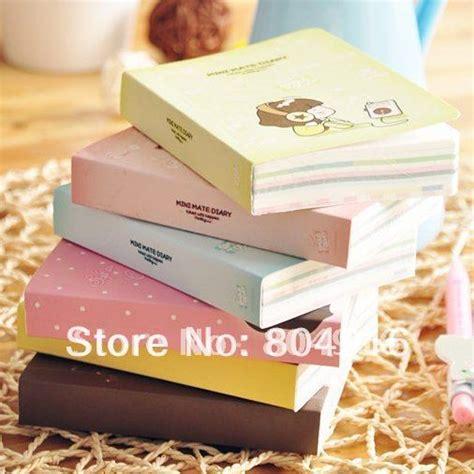 Mini Mate Diary kawaii stationery cooky series mini mate diary book notepad note memo book 6 designs