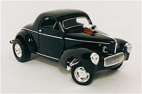 Willys Coupe 1941 Diecast yat ming 1 18 1941 willys rod coupe diecast zone