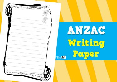 Anzac Essay by Resources And Classroom Teach This