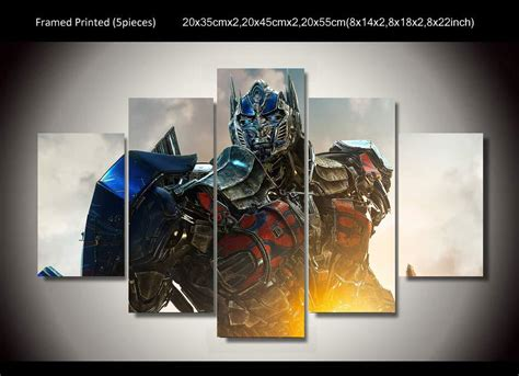 how to prime a room framed printed optimus prime transformers 5 painting wall room decor print poster