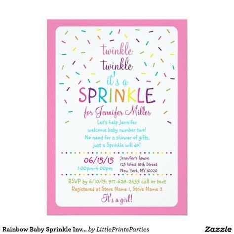 best 25 baby sprinkle invitations ideas on
