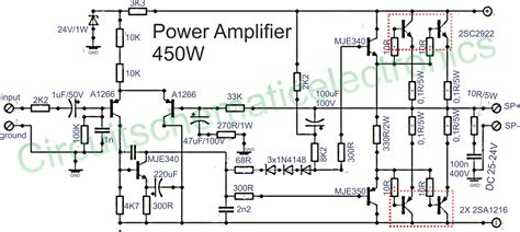 daftar transistor driver power lifier power lifier 450w with sanken power lifier