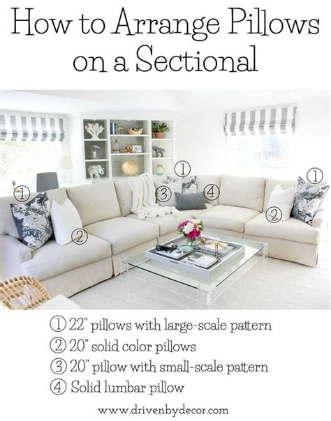 pillows for sectional sofa 17 best ideas about pillow arrangement on