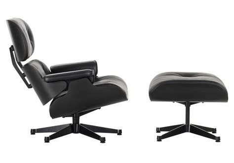 club chair ottoman lounge chair ottoman black version vitra milia shop