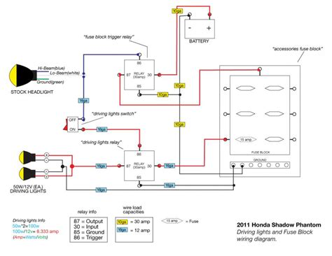 motorcycle driving lights wiring diagram 40 wiring