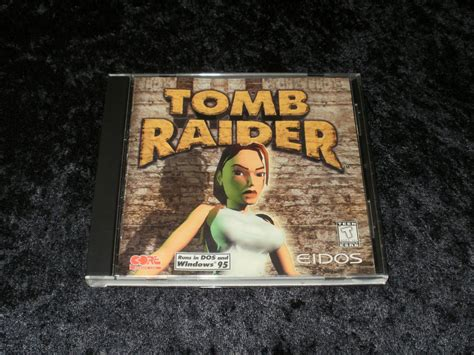 Tomb Raider 1996 Eidos Interactive Ibm Pc With Manual